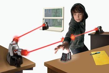 Transmitter Laser Alarm
